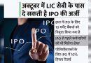 LIC का IPO दिसंबर तक आएगा, अक्टूबर में फाइल हो सकता है डीआरएचपी